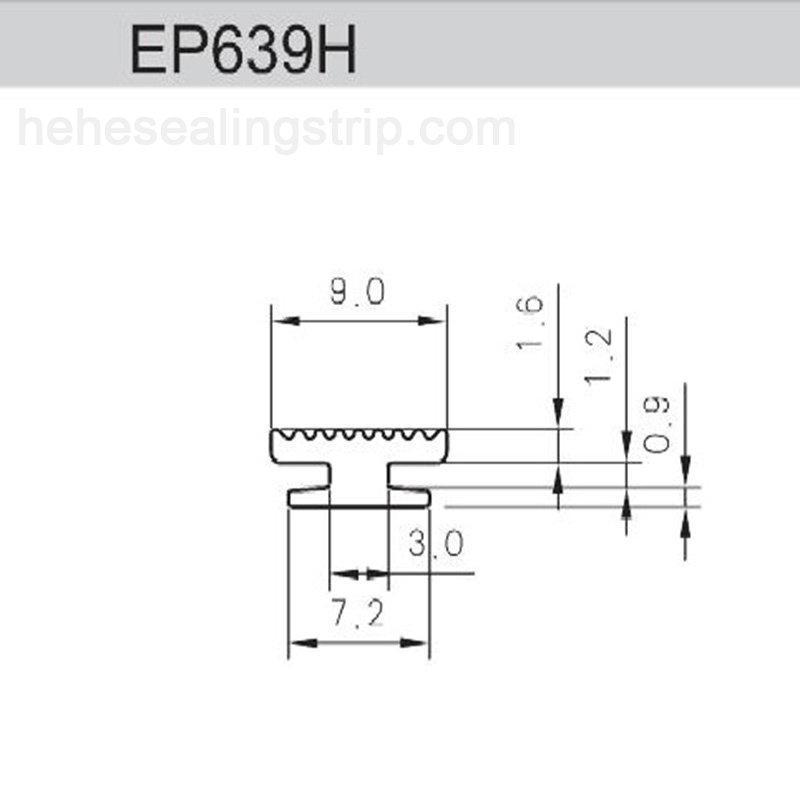 EPDM-Curtain Wall series EP639H