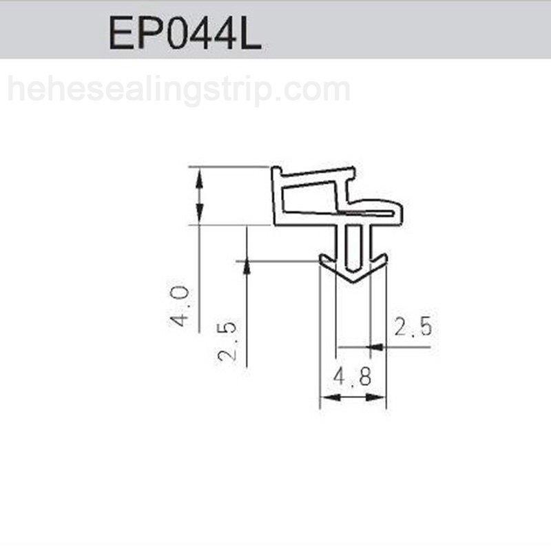 EPDM- UPVC Sealing Rubber Strip EP044L