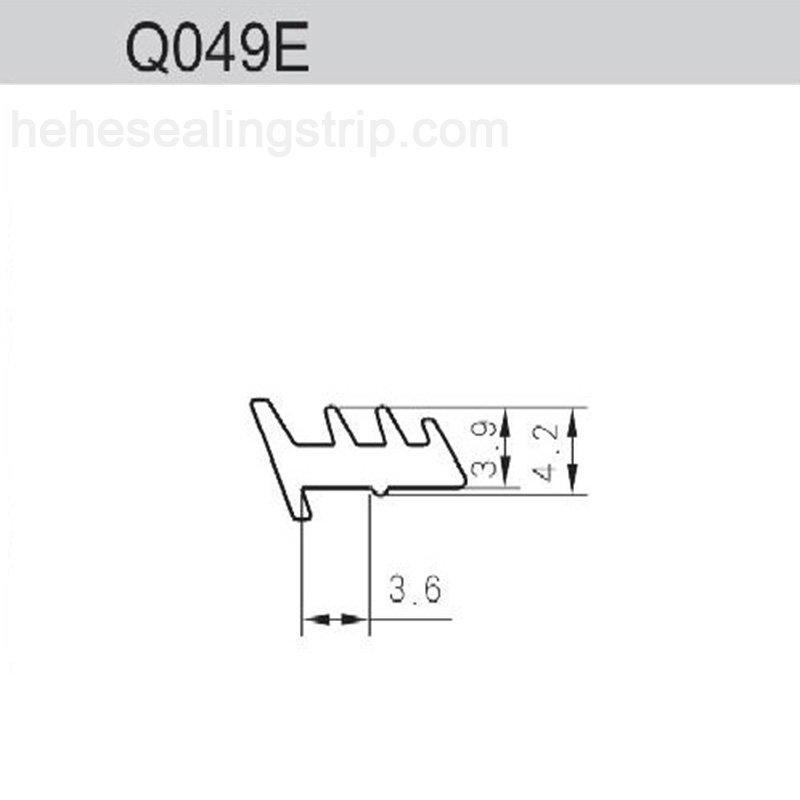 Silicon Material -Glazing Rubber Series  Q049E