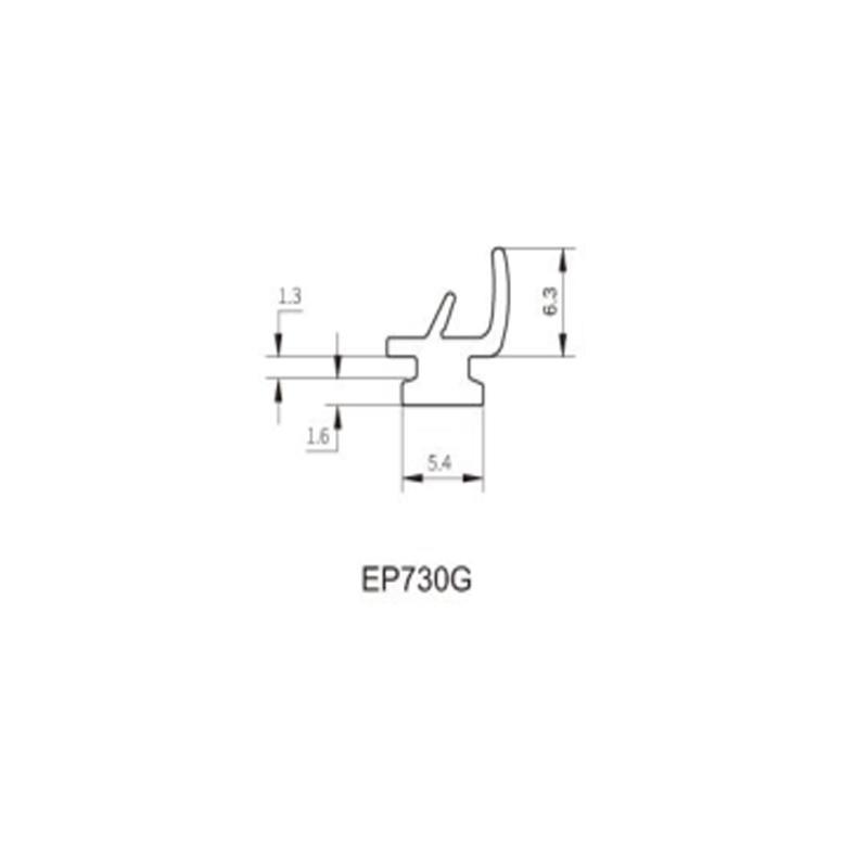 EPDM-Frame/Sash Sealing Rubber-Lift Sliding door series