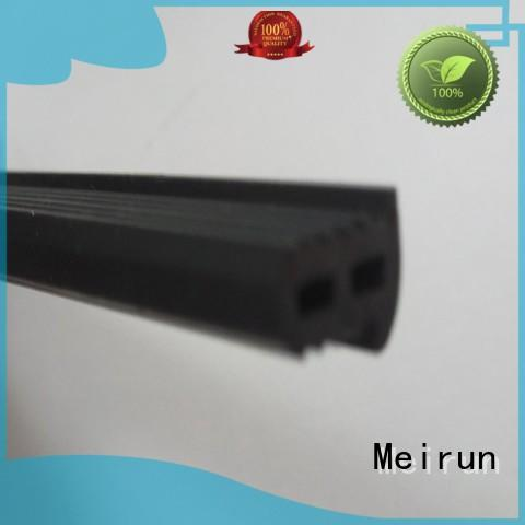 Meirun professional 2 wide rubber strips wholesale for window seal