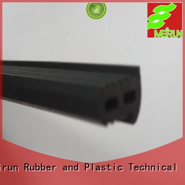 Meirun tpv 2 wide rubber strips manufacturer for window seal